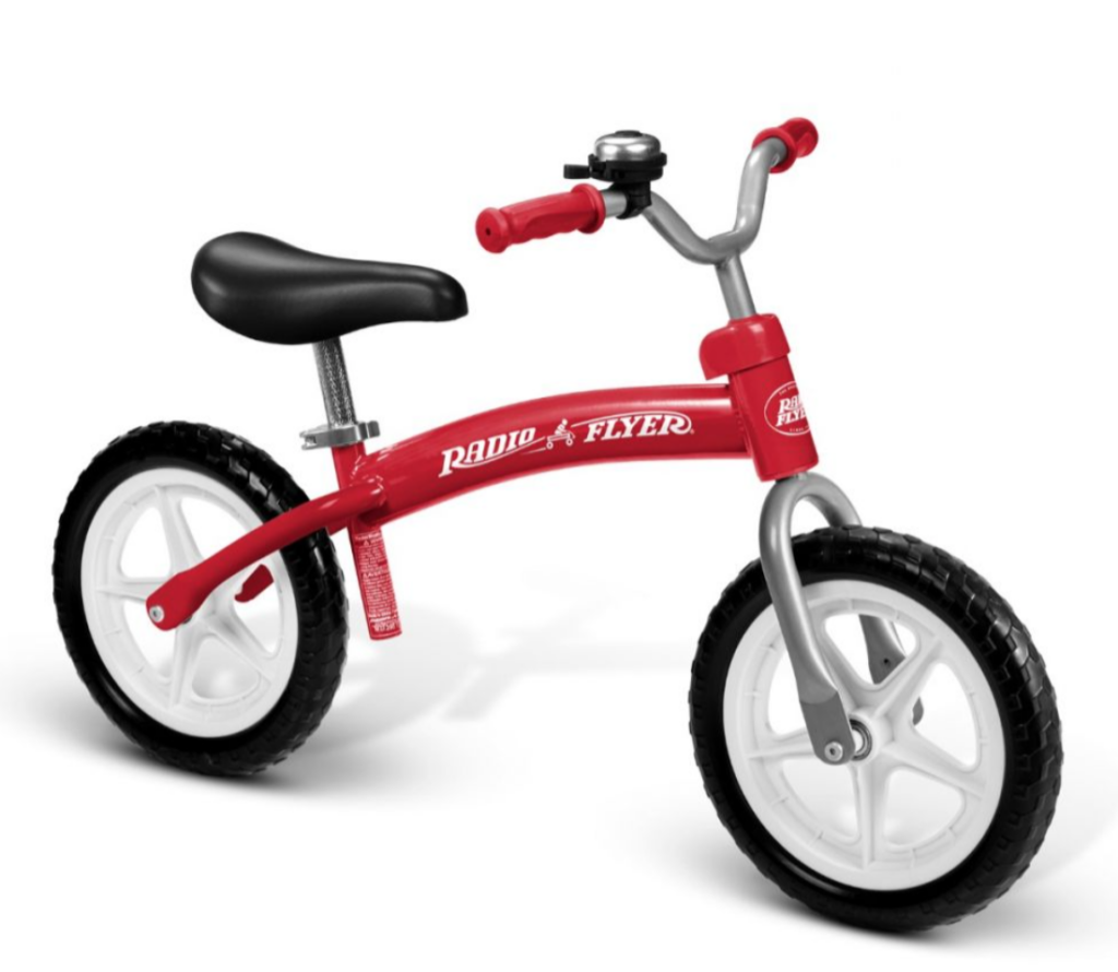 Radio Flyer Balance Bike with Bell