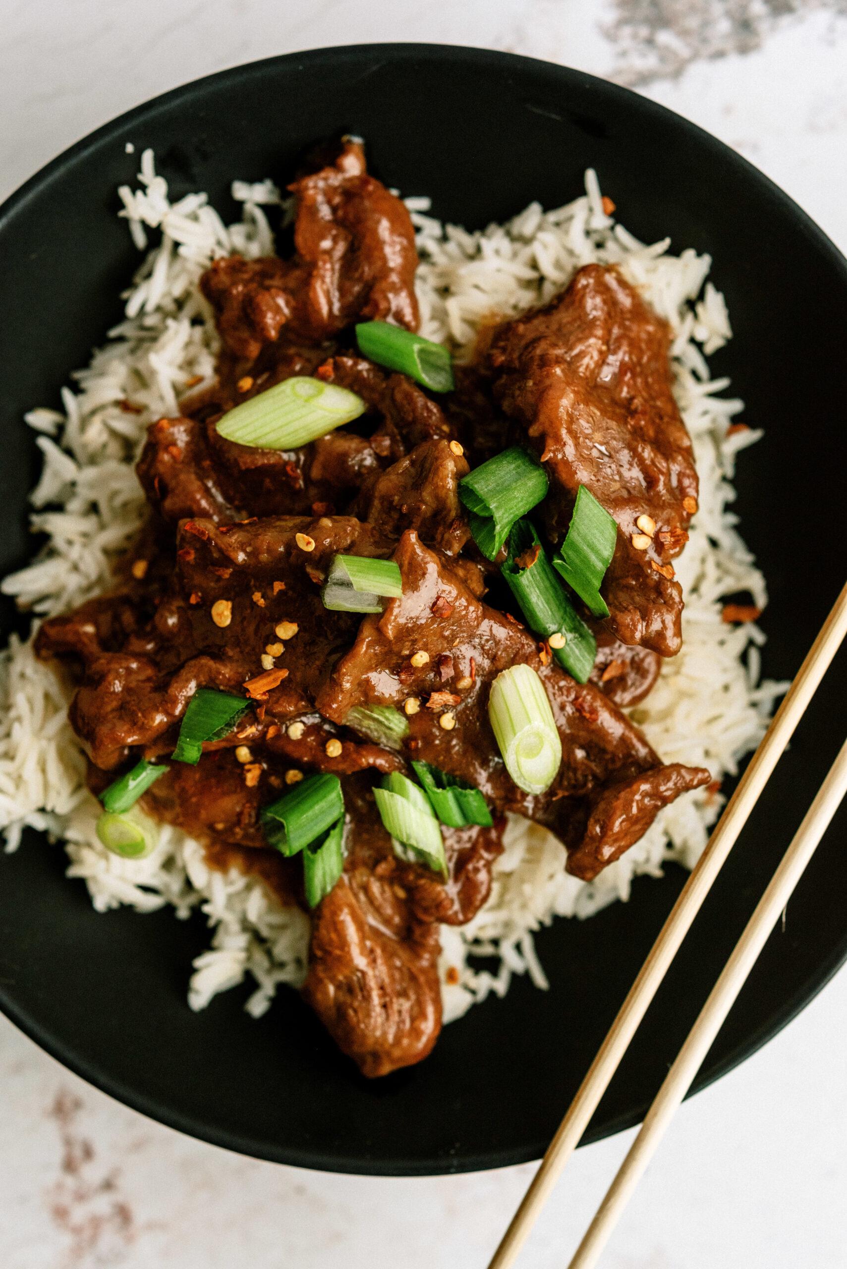 Instant Pot Mongolian Beef Recipe (Freezer Meal)