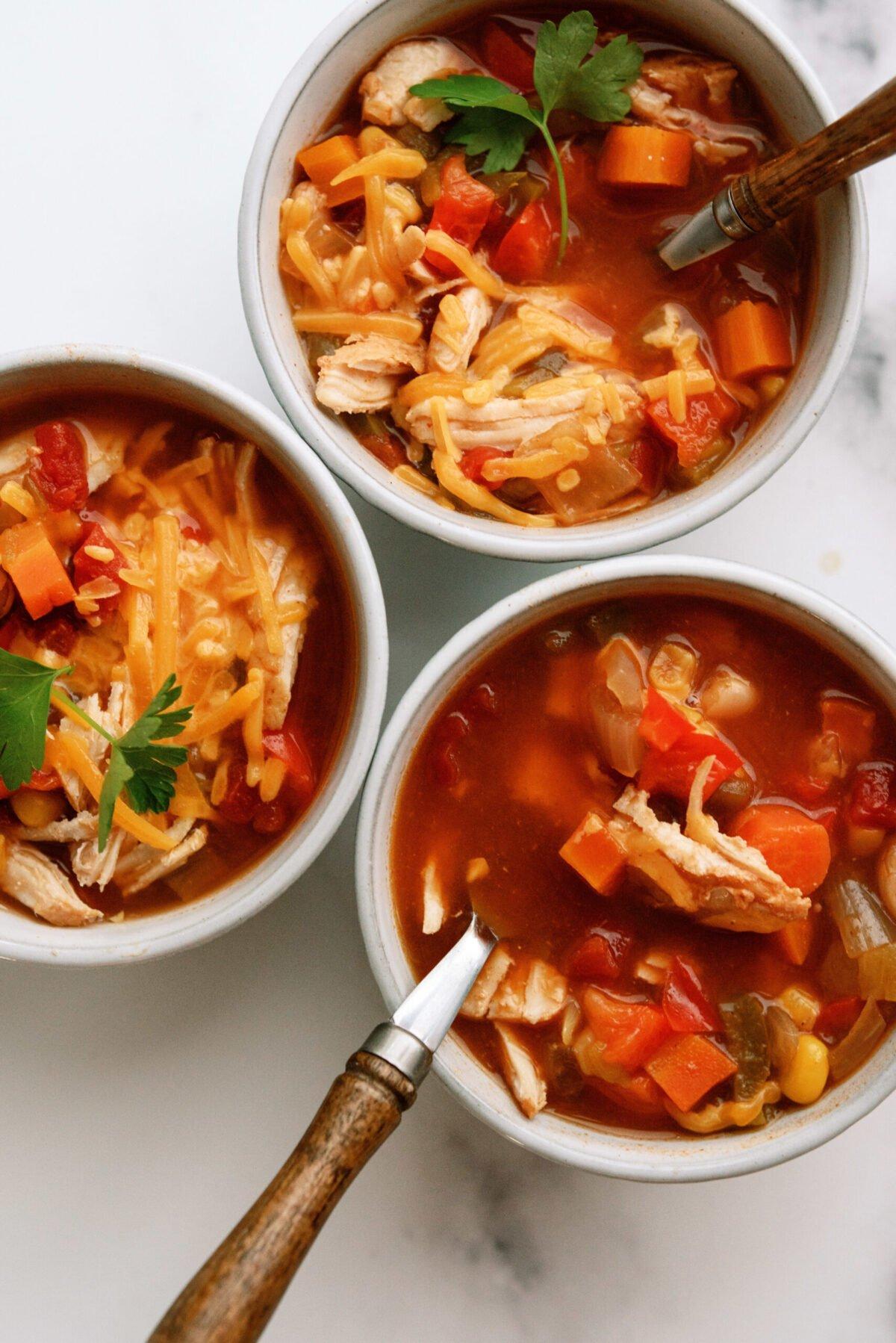 Instant Pot BBQ Chicken Chili Recipe