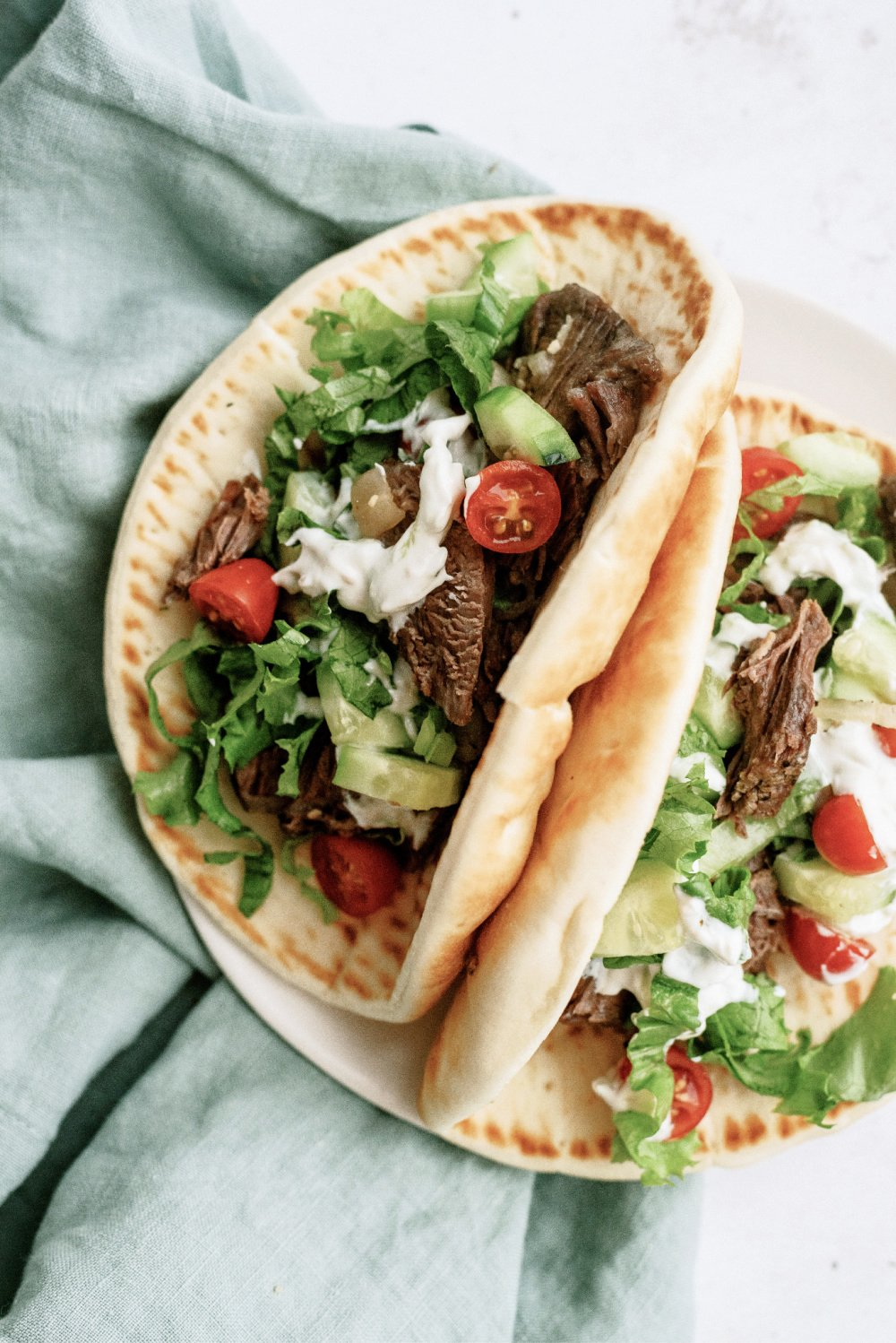 Instant Pot Beef Gyros Recipe