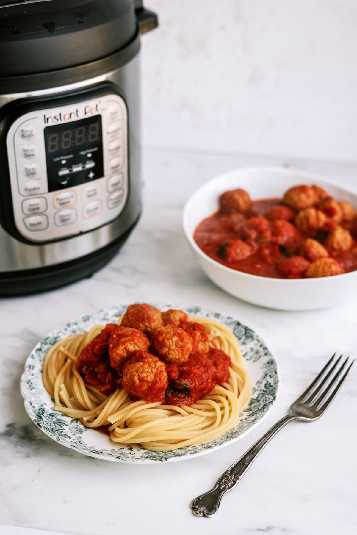 Easy Instant Pot Italian Meatballs Recipe