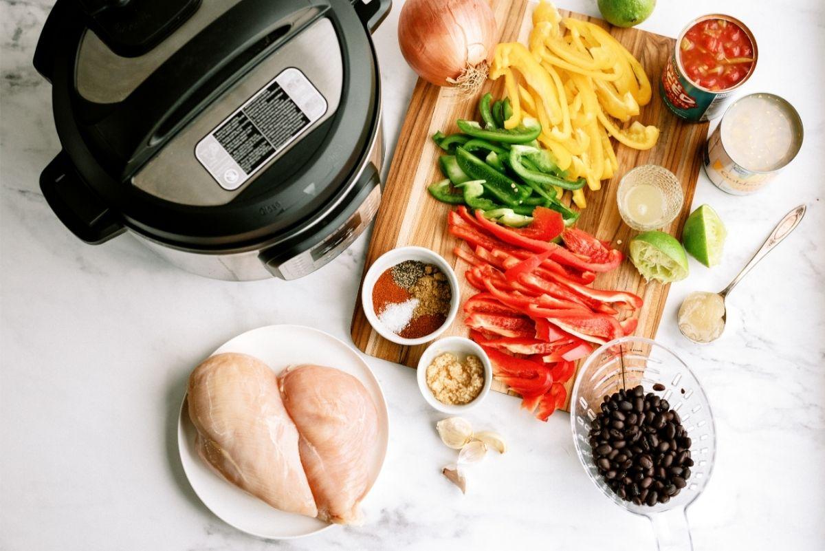 Instant Pot Chicken Fajitas Ingredients