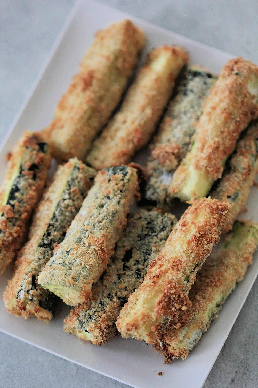 The BEST Air Fryer Zucchini Fries Recipe