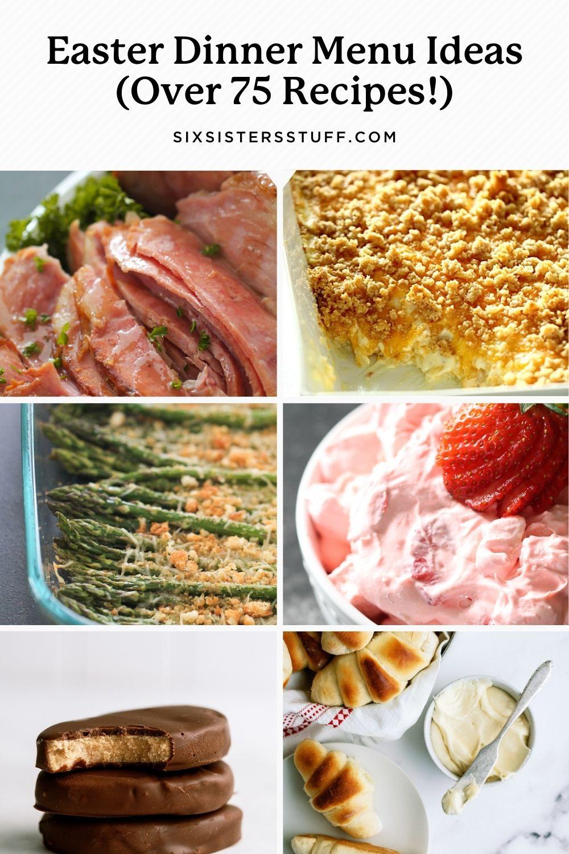 Easter Dinner Menu Ideas (Over 75 Recipes!)
