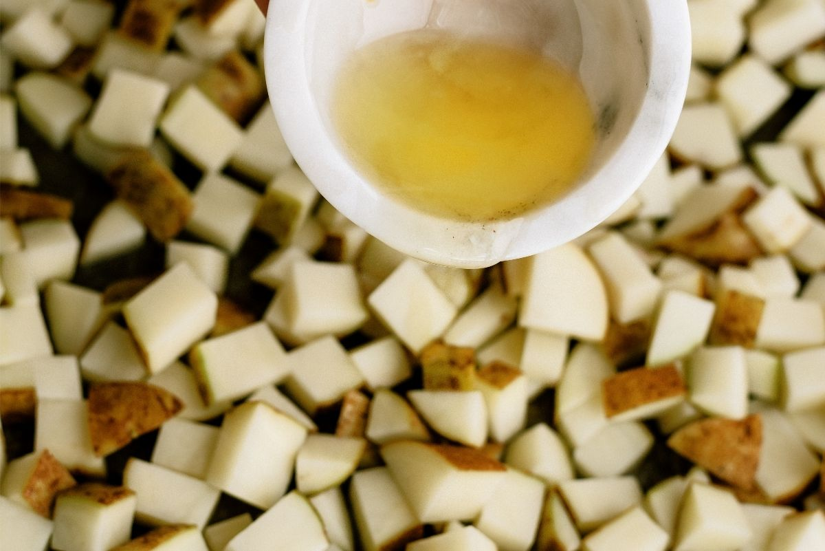 Oil for Roasted Parmesan Potatoes