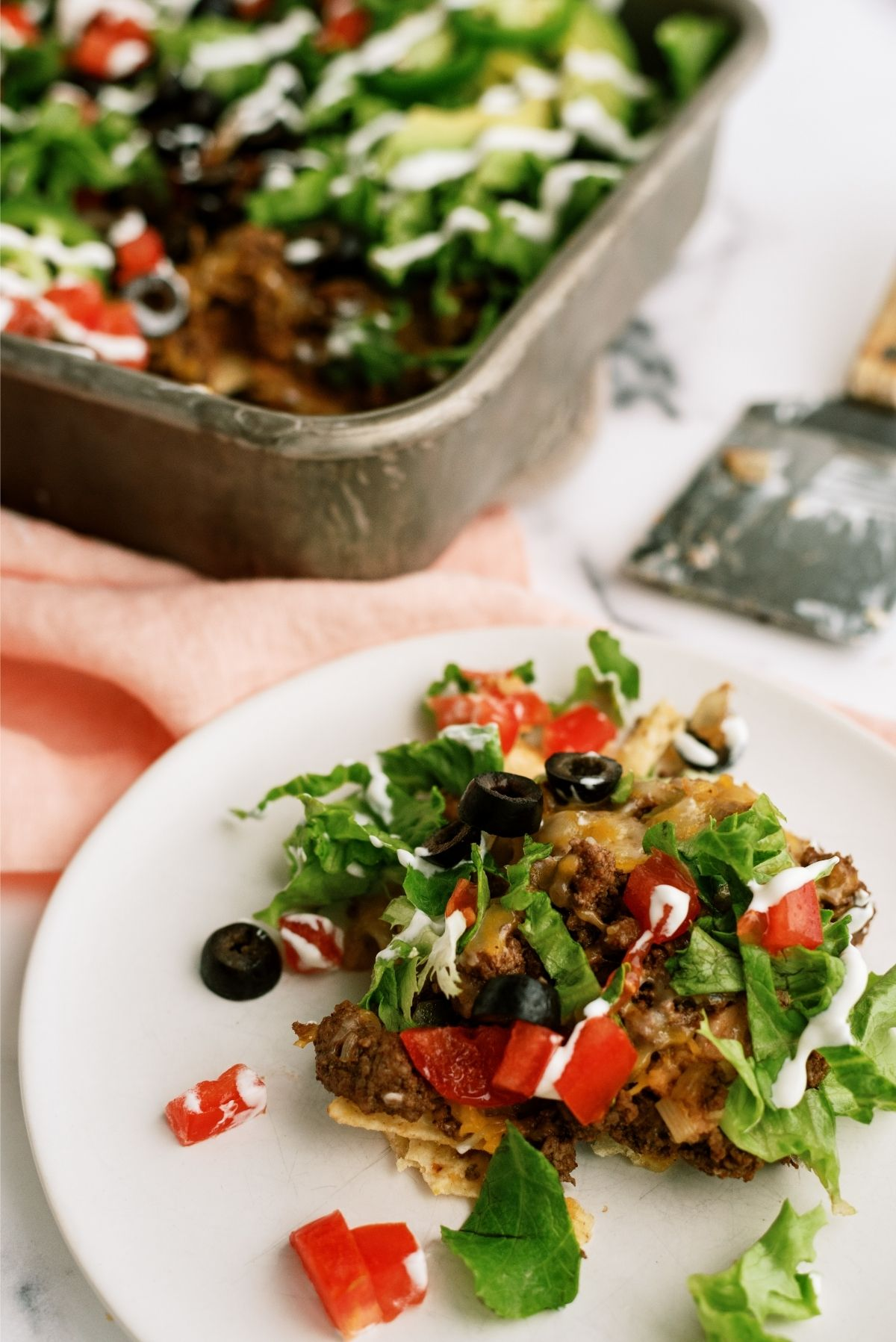 20 Minute Taco Salad Casserole Recipe