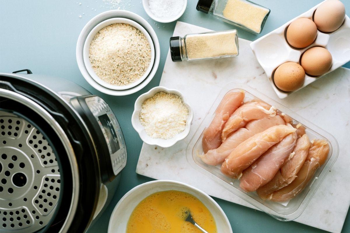 Ingredients for Instant Pot Air Fryer Chicken Tenders Recipe