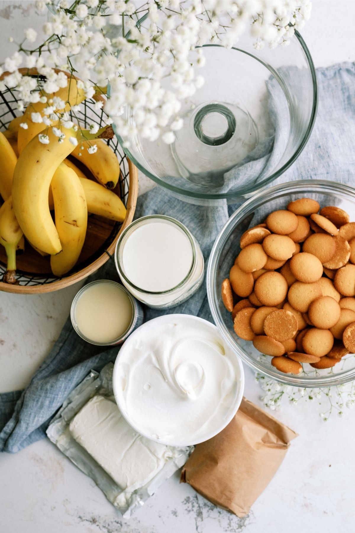 Ingredients for The Best Banana Pudding (Trifle) Recipe