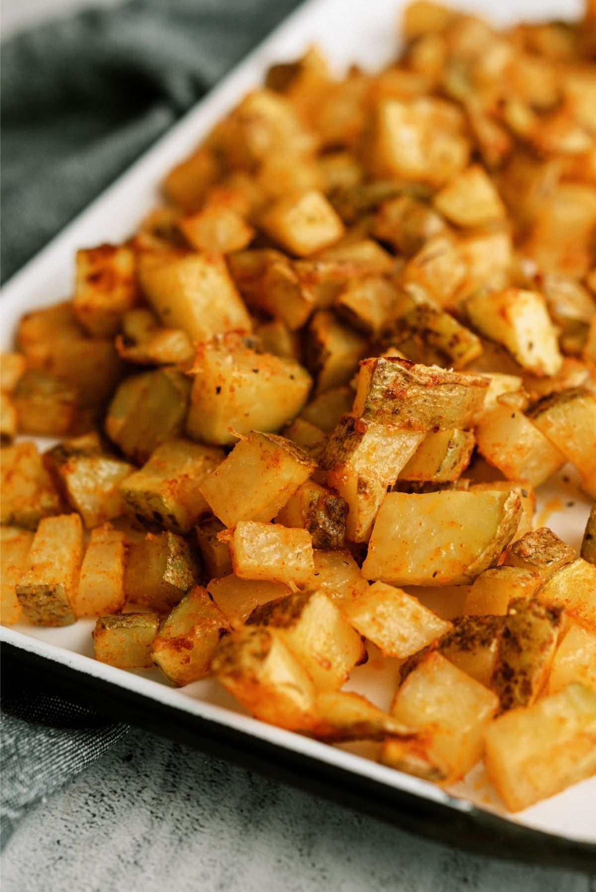Instant Pot Air Fryer Roasted Potatoes