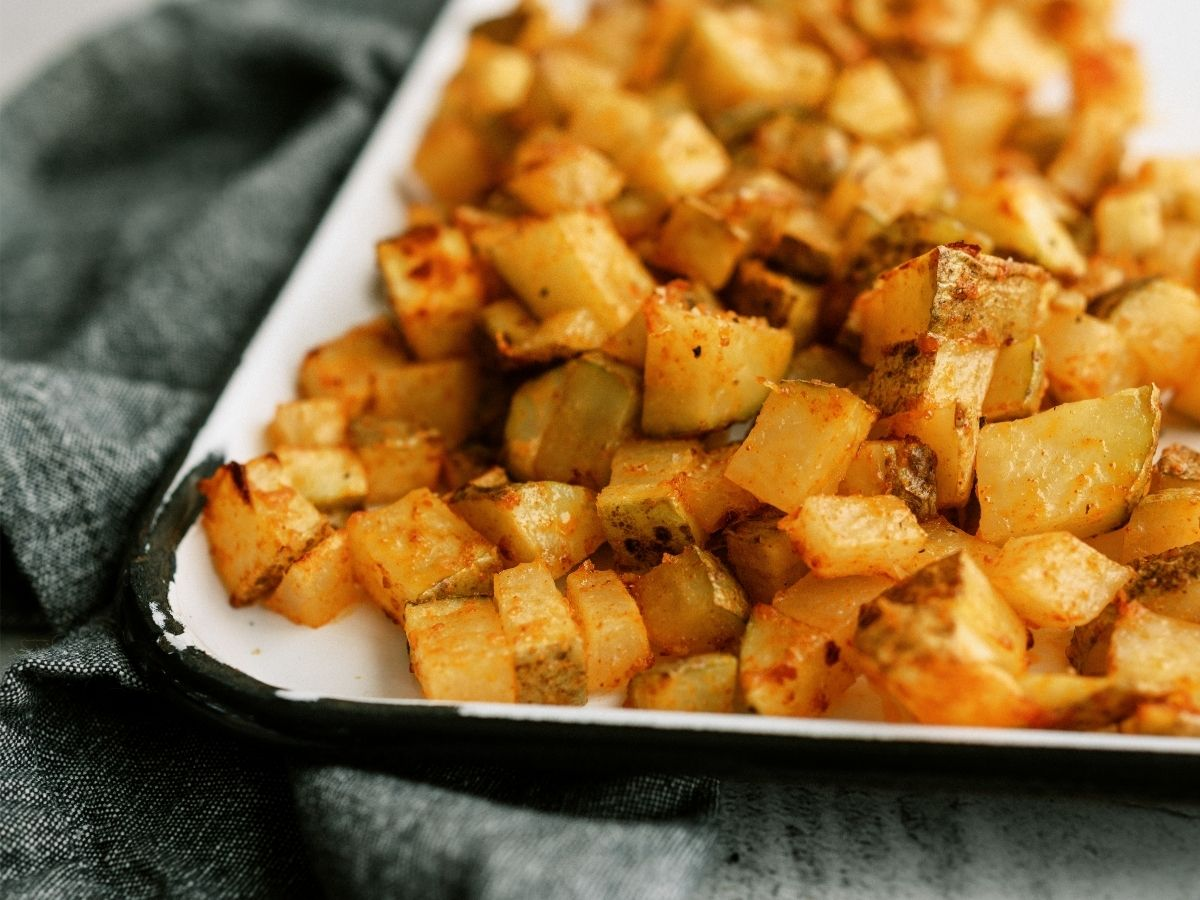 Air Fryer Roasted Potatoes Recipe