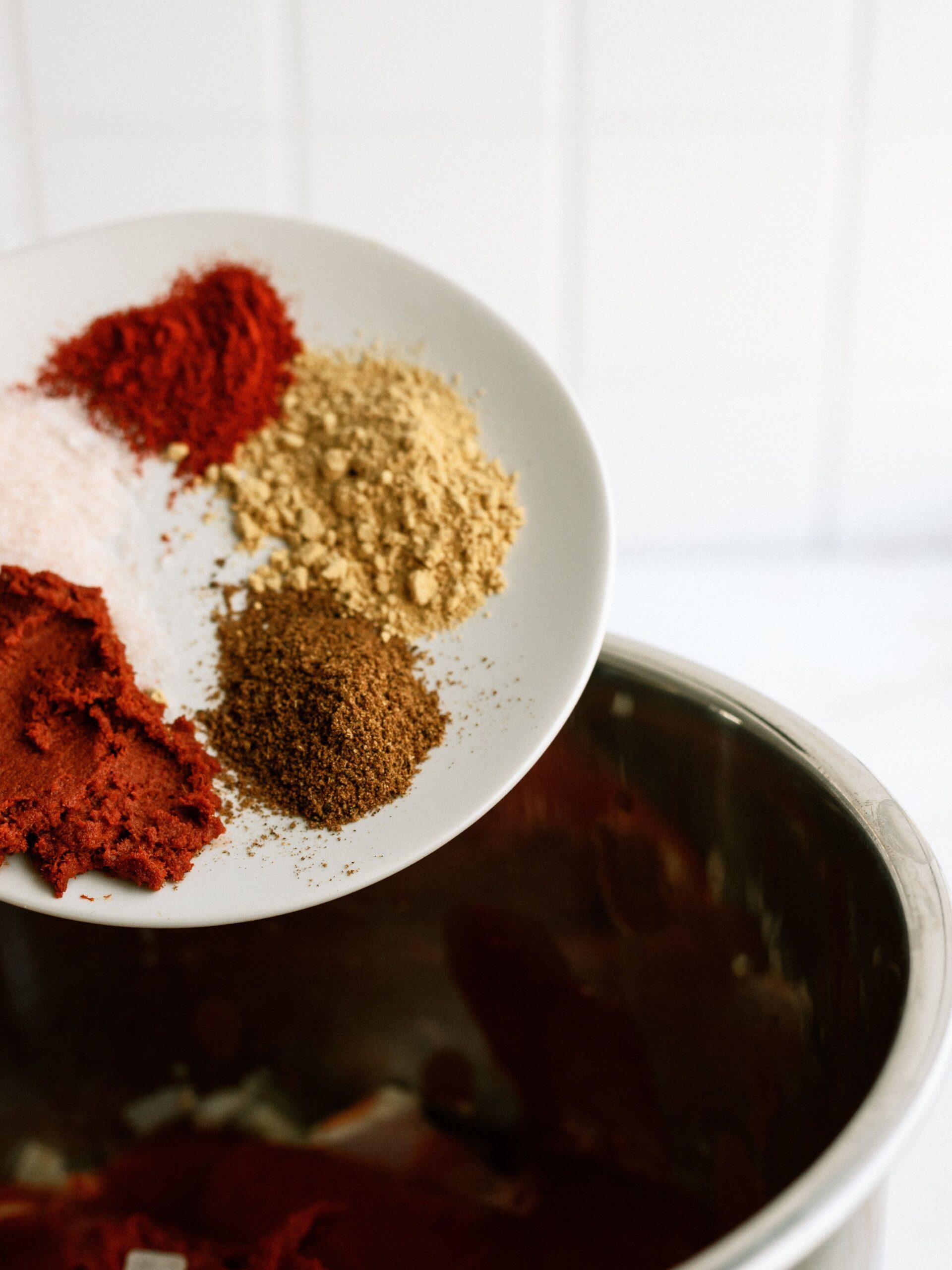 Seasonings for Instant Pot Butter Chicken