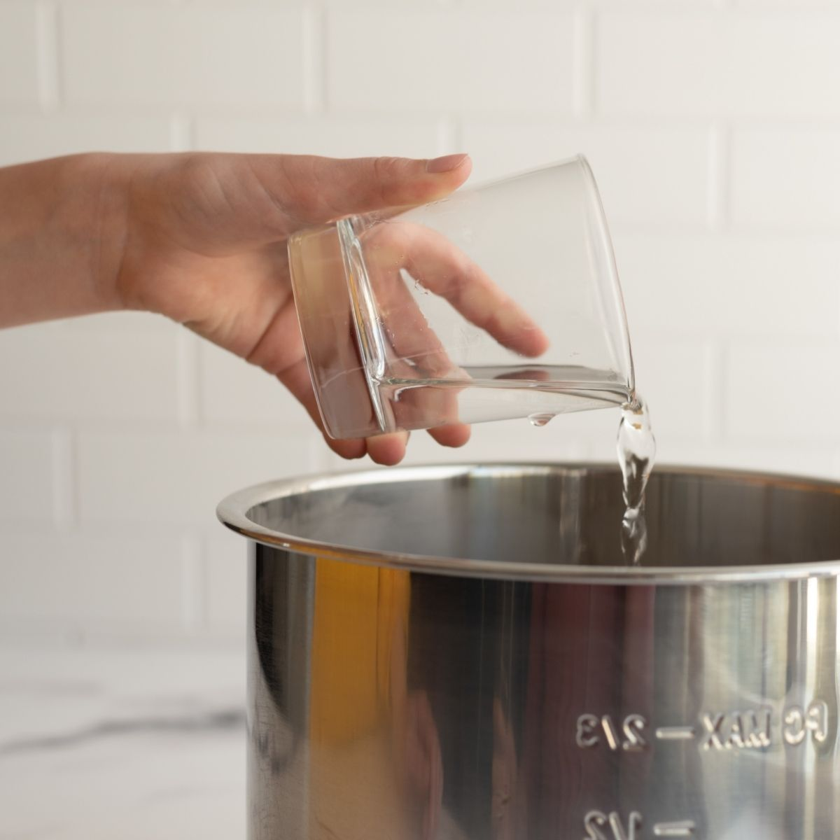 Adding a 1/2 Cup of water to Instant Pot