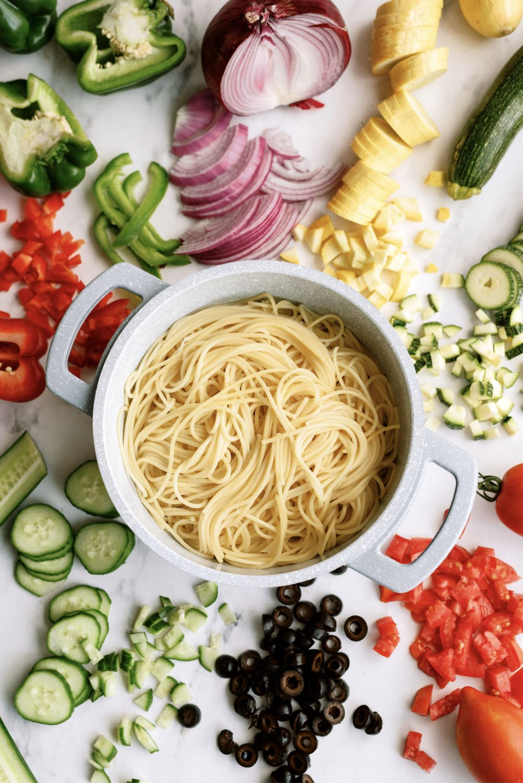 ingredient needed for spaghetti pasta salad
