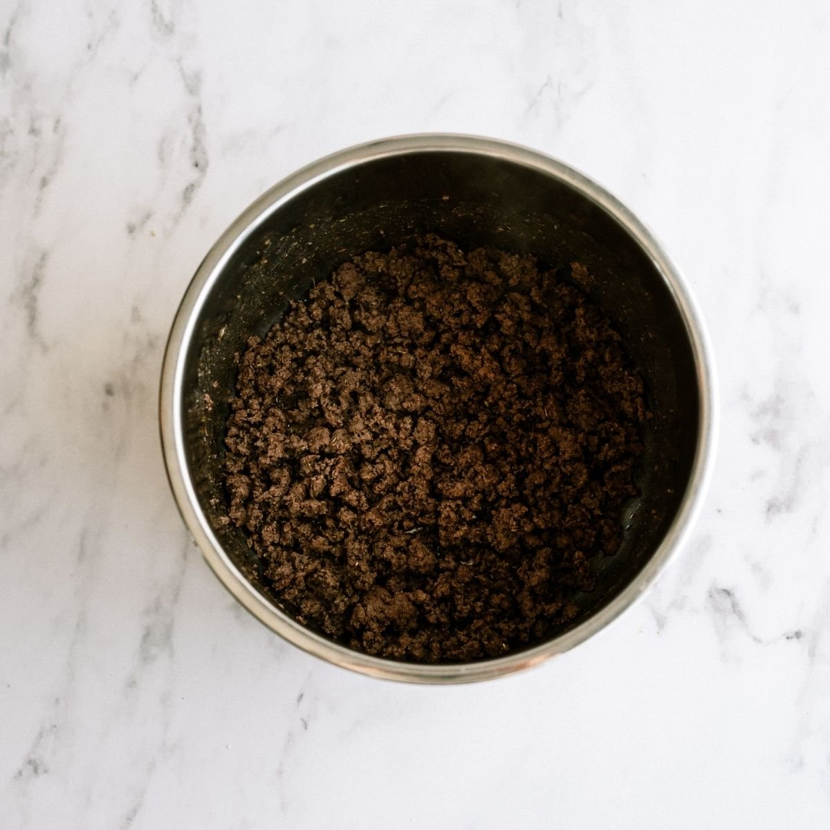 Cooke Ground Beef in the Instant Pot
