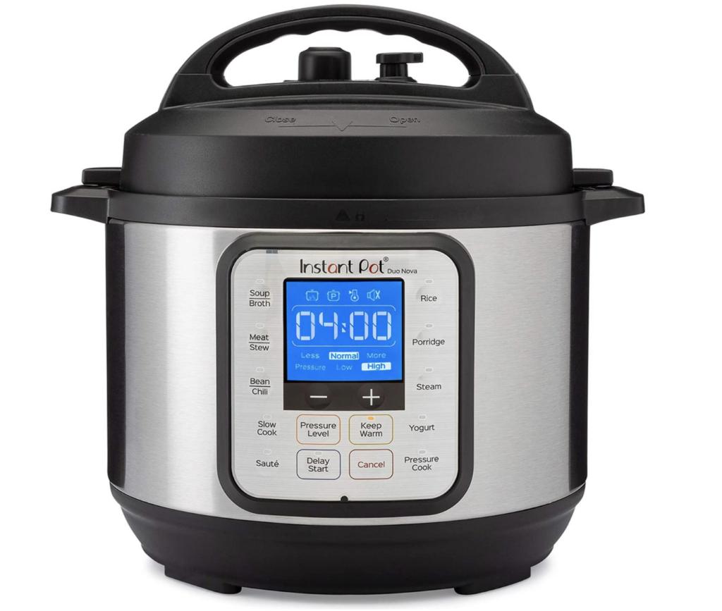 Instant pt duo nova for cooking freezer meals
