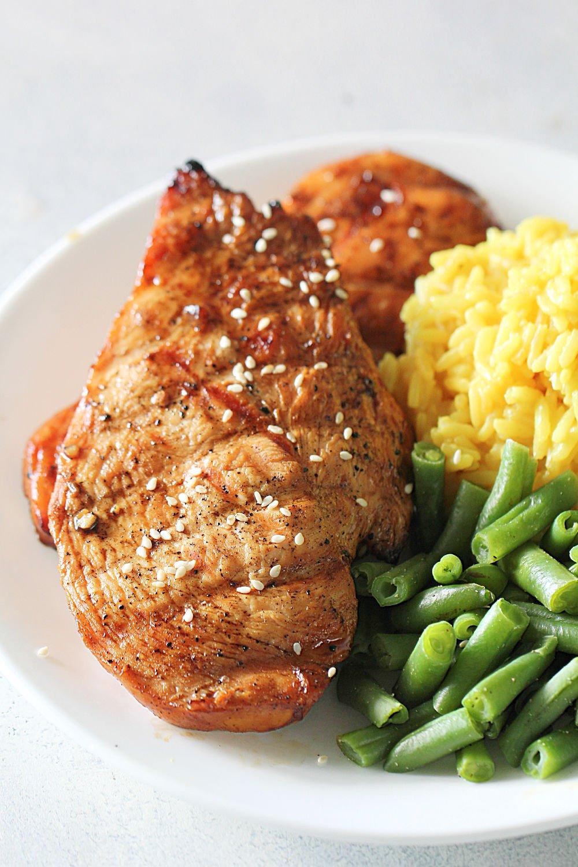 5 Star Grilled Teriyaki Chicken Recipe