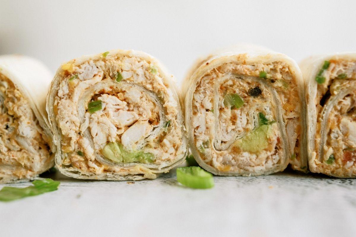 Chicken Taco Roll Ups