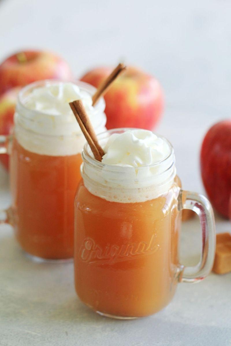 Instant Pot Caramel Apple Cider Recipe