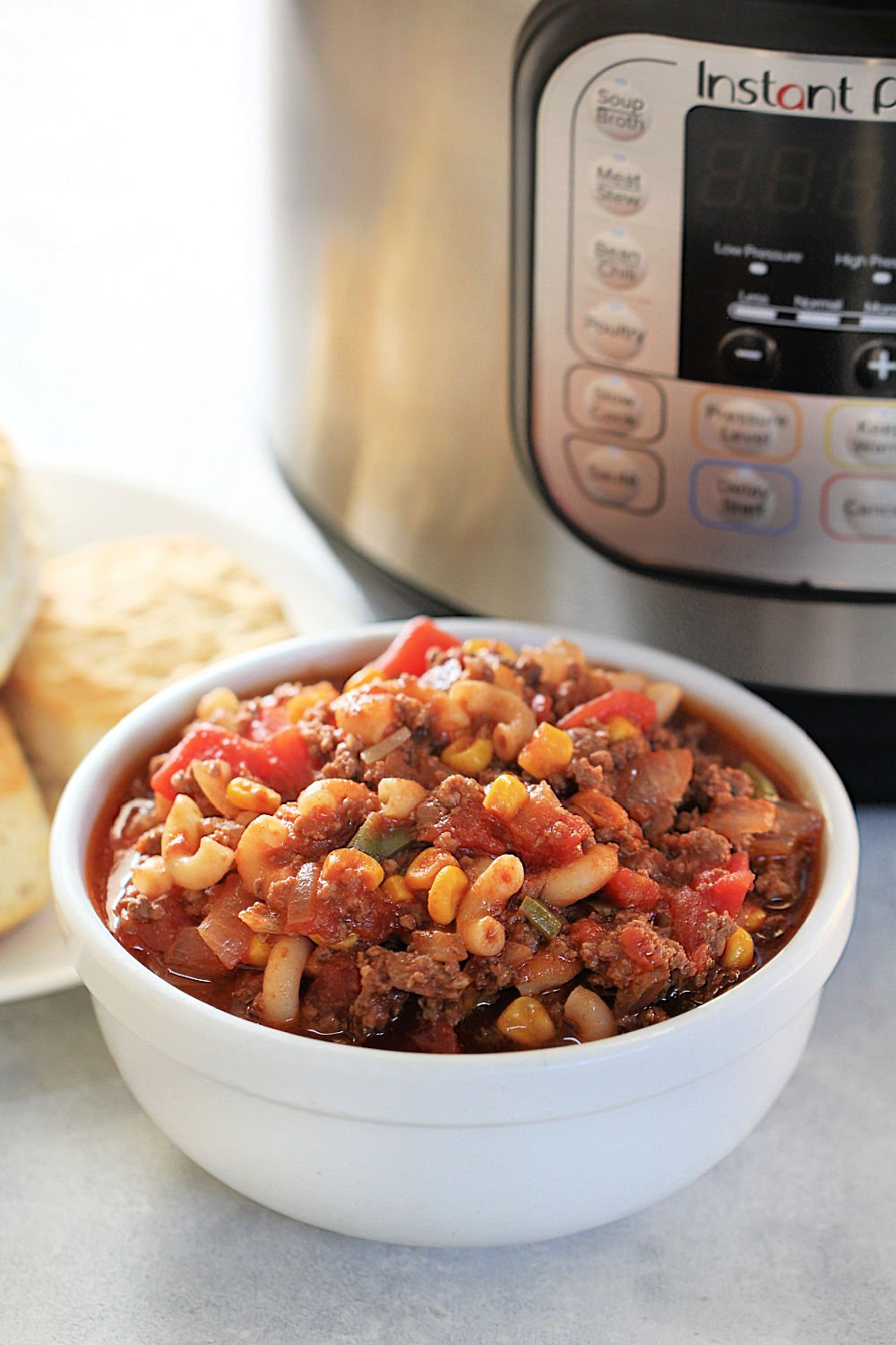 Instant Pot Ground Beef Goulash Recipe (American Style)