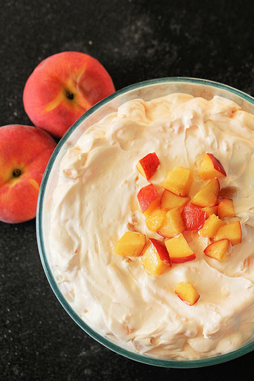 Peach Jello Fluff Salad Recipe