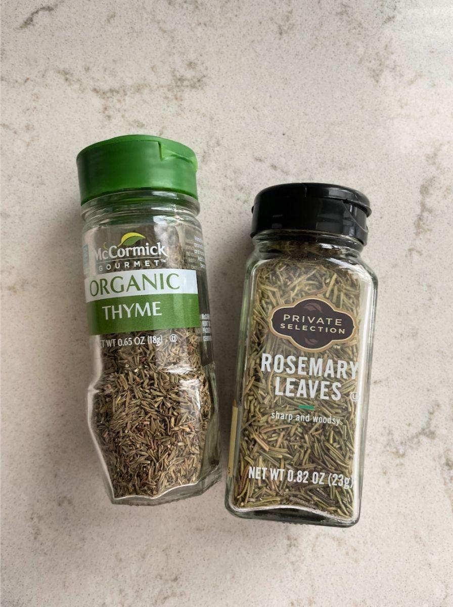 Rosemary and Thyme the 2 seasonings every pot roast needs