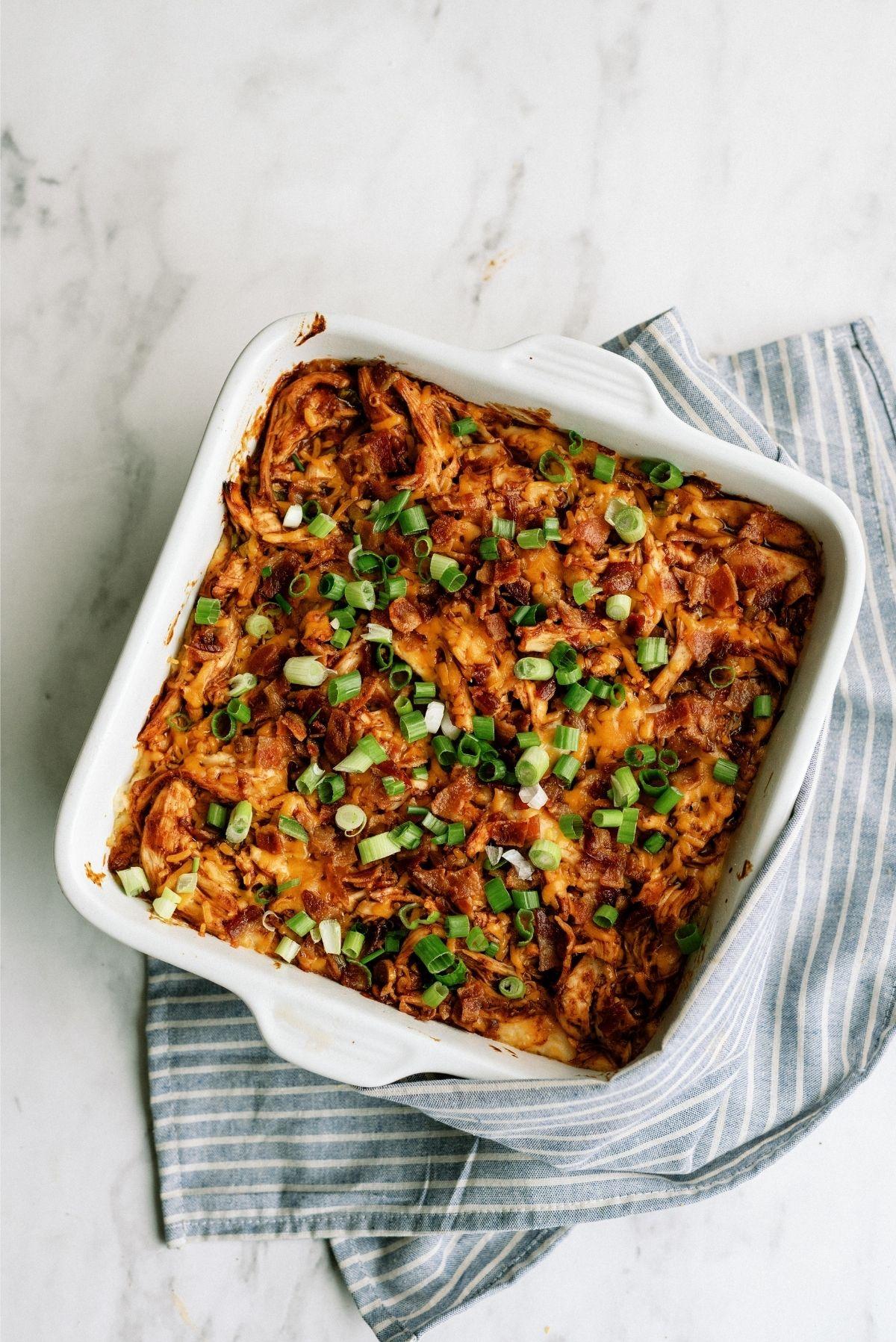 BBQ Chicken and Potato Casserole Recipe